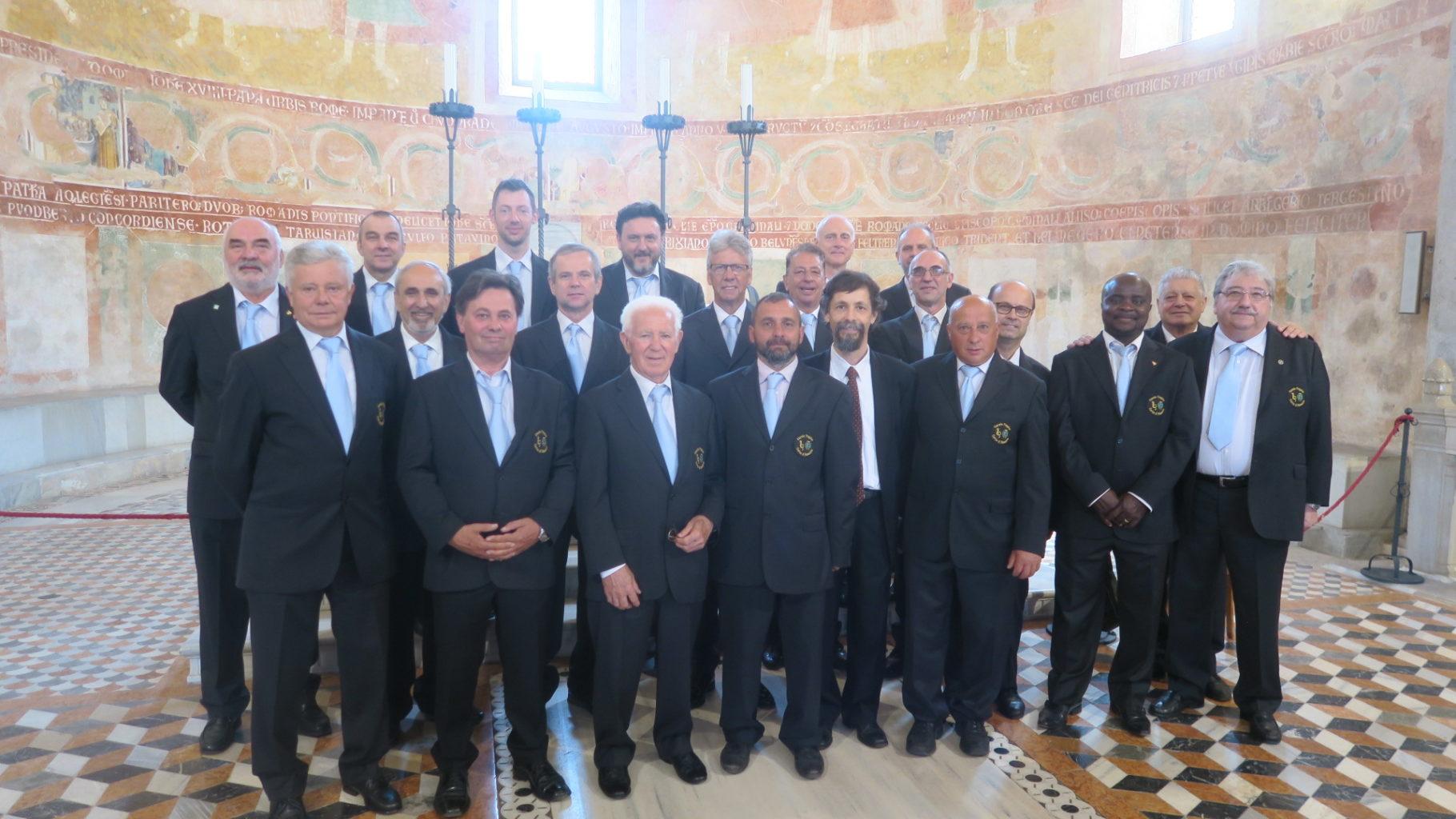 Messa nella Basilica di Aquileia